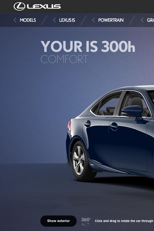 Lexus Carconfigurator